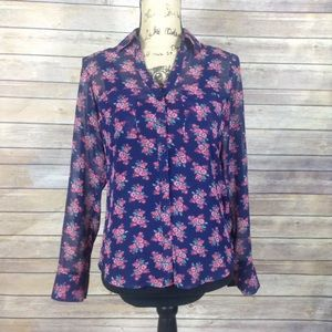 Express The Portofino Shirt size XS slim fit
